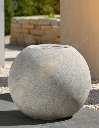 ESTERAS stone fountains – relaxation for the soul