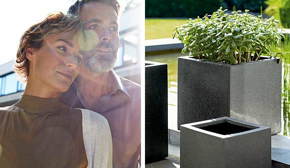 The planter series black – ESTERAS